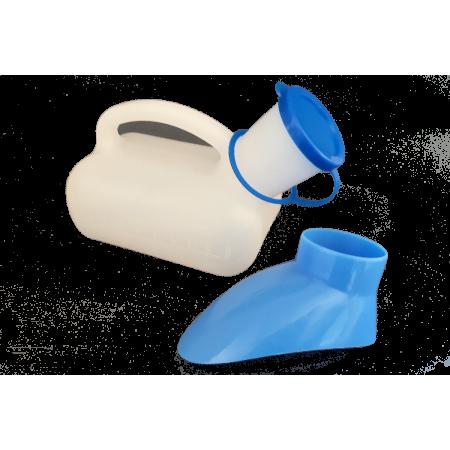 Pistolet urinal unisexe avec bouchon : pour Monsieur ou pour Madame