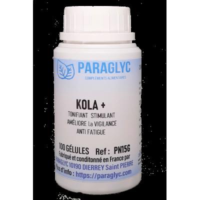 KOLA ou COLA  tonifiant, stimulant et anti-fatigue