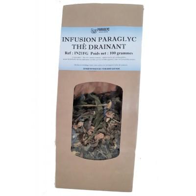 INFUSION THÉ DRAINANT pour débarasser le corps des déchets organiques